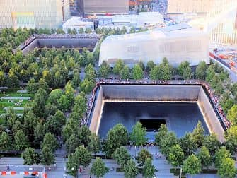 9/11 Memorial a New York - Dall'alto