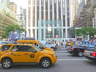 Apple Store sulla Fifth Avenue a New York