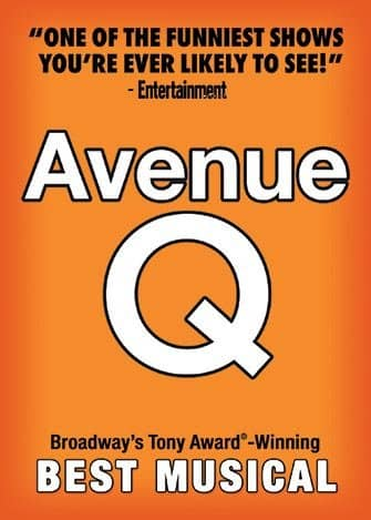 Avenue Q a New York - Poster