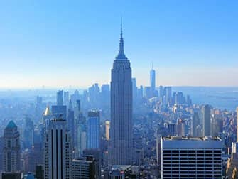 Biglietti per il Top of the Rock- Veduta dell'Empire State Building