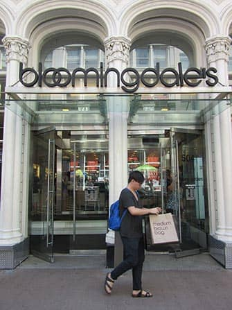 Bloomingdales a NYC