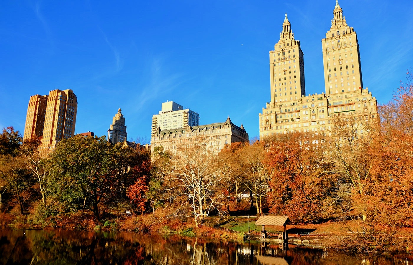 Central Park a New York- Autunno