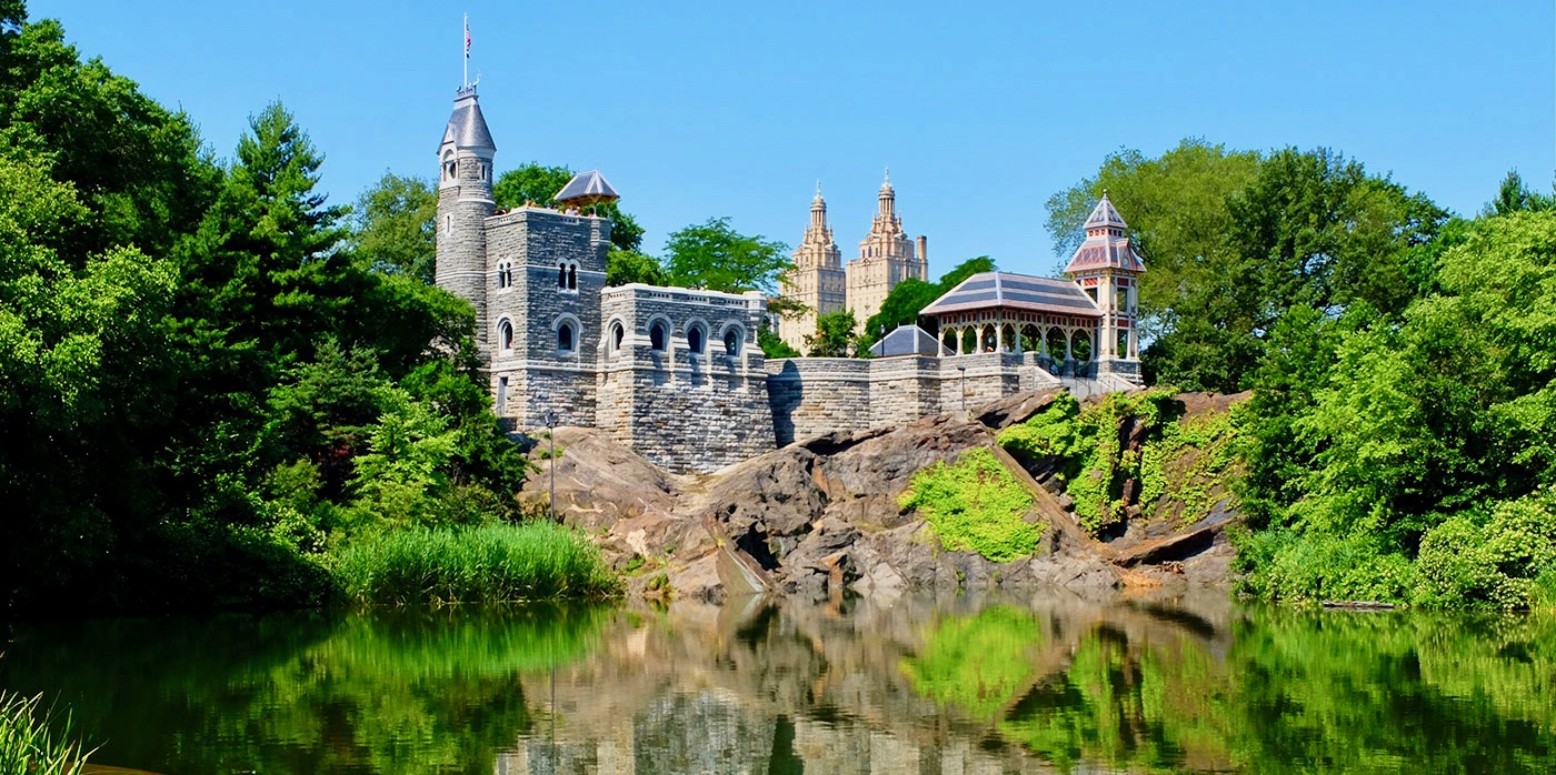 Central Park a New York - Belvedere Castle