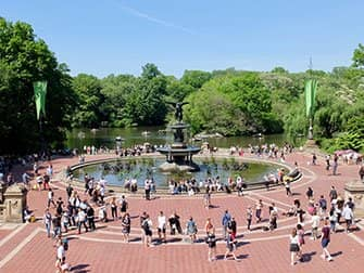 Central Park a New York - Bethesda Fountain