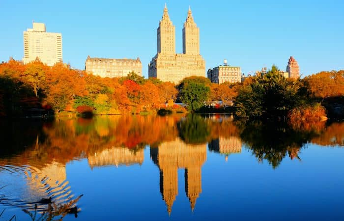 Central Park a New York - Colori dell'autunno