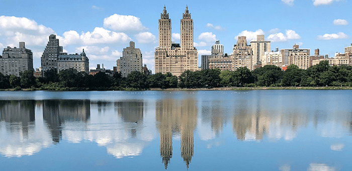 Central Park a New York - Jacqueline Kennedy Onassis Reservoir