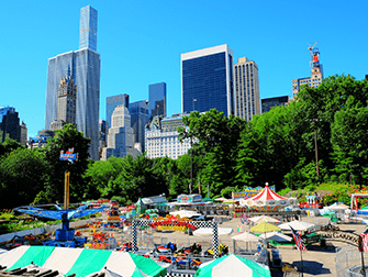 Central Park a New York - Victorian Gardens