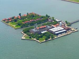 Ellis Island a New York