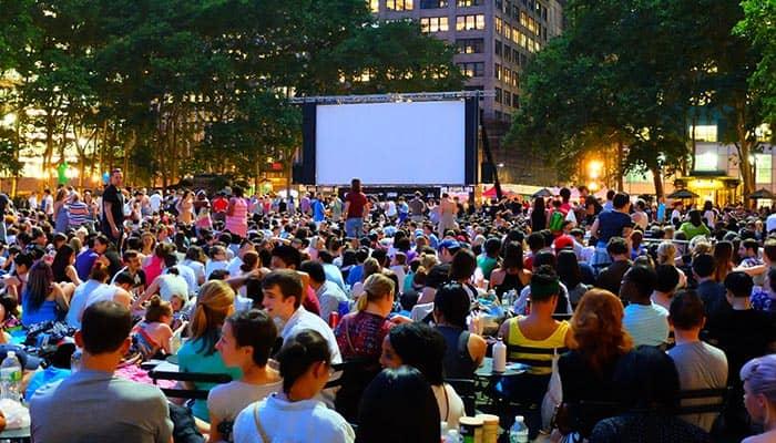 Film festival gratuito in Bryant Park - Movie Night