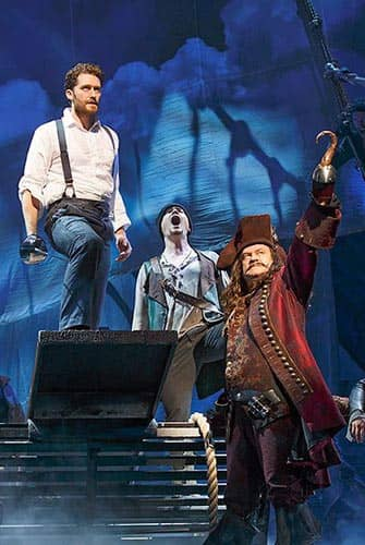 Finding Neverland a Broadway - Capitan Uncino
