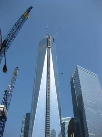 Freedom Tower in NYC - Costruzione