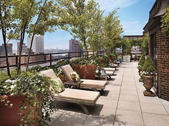 Hudson Hotel in NYC - Rooftop