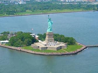 La Statua della Liberta - Visione aerea