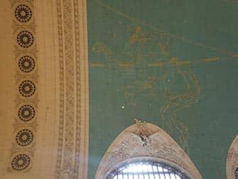 La stazione Grand Central di New York - Mappa stellare