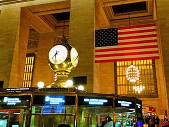 La stazione Grand Central di New York - Orologio
