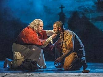 Les Miserables il musical a Broadway