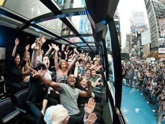 L'onda al The Ride New York City