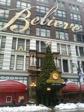 Macy's in New York Albero di Natale