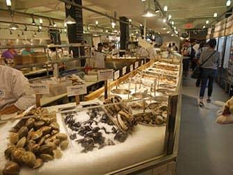 Mercati di New York - Frutti di mare al Chelsea Market
