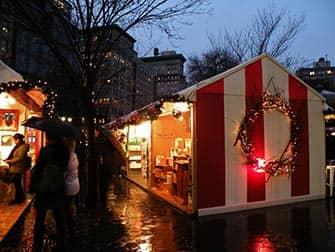 Mercati di New York- Mercatino di Natale Union Square