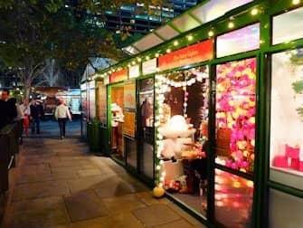 Mercati di New York - Mercatino di Natale di Bryant Park