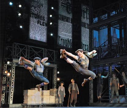 Newsies a Broadway in New York