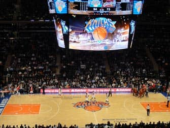 Partita New York Knicks Madison Square Garden