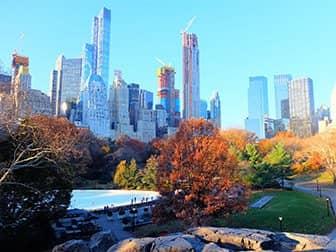 Pattinare a New York - Central Park
