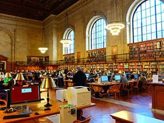 Public Library New York - Interno