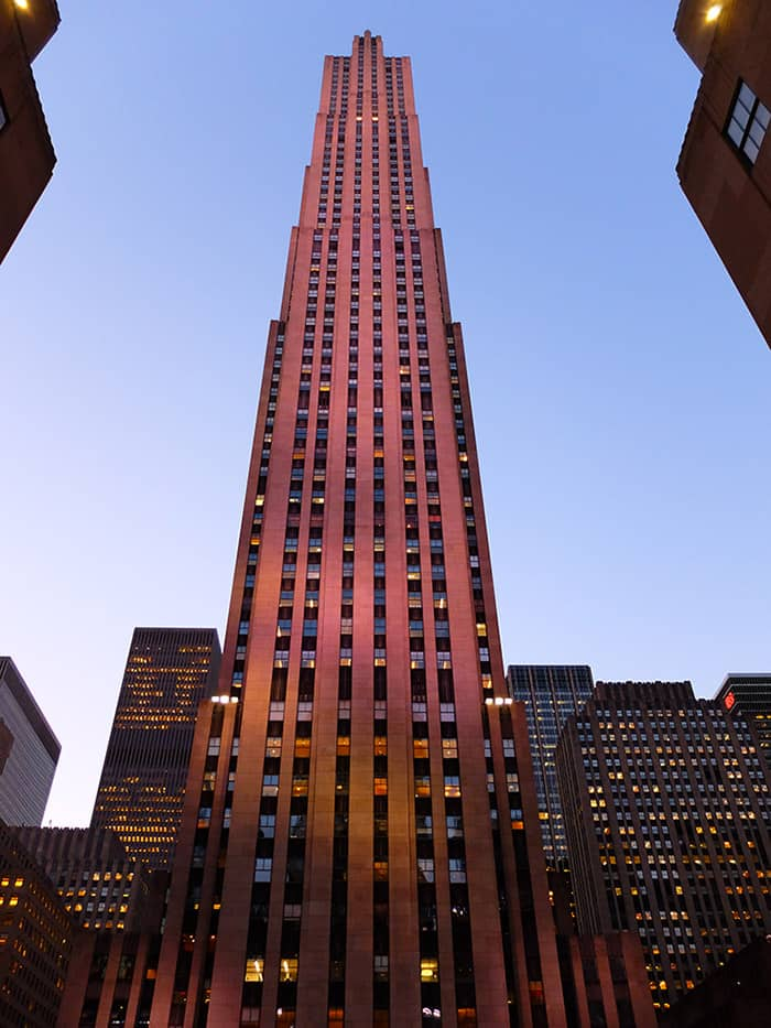 Rockefeller Center di New York - Comcast Building