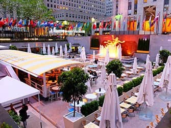 Rockefeller Center di New York - Terrazza
