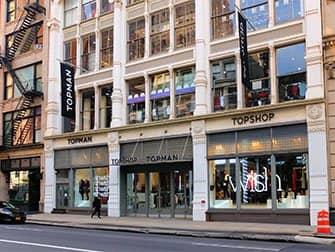 Shopping a SoHo - Topshop