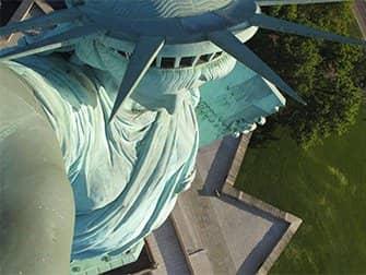Statua della Libertà - Corona
