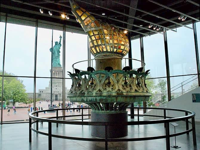 Statua della Libertà - Torcia