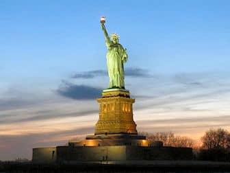 Statua della Libertà- Tramonto
