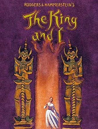 The King an I a Broadway - Poster