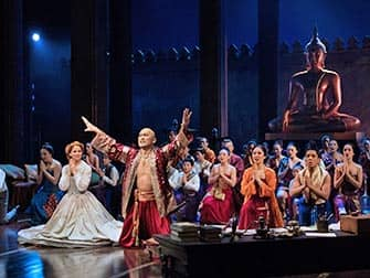 The King and I a Broadway - Cast