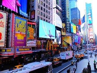 Times Square a New York - Di giorno