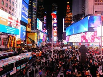 Times Square a New York - Di notte