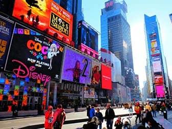 Times Square a New York - Negozio Disney