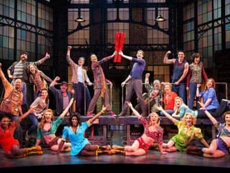 Kinky Boots musical a Broadway New York