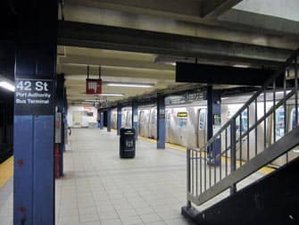 42nd Strada fermata metro