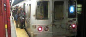 A train a New York