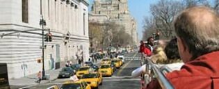 Autobus turistico a New York