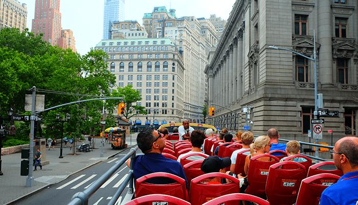 Autobus turistico a New York - Giro turistico