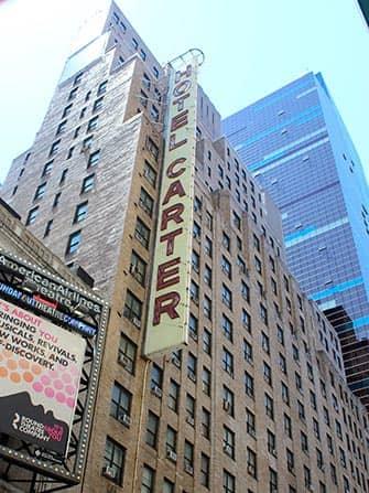 Carter Hotel in NYC - Edificio