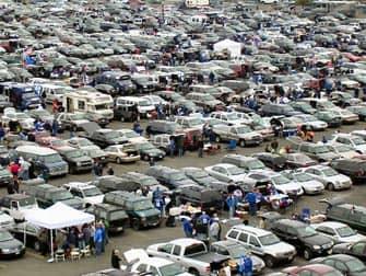 Giants New York parcheggio