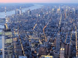 Giro in elicottero e in battello di sera a New York