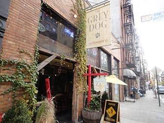 Grey Dog a New York