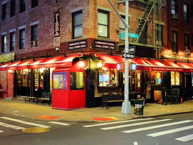 La migliore pizza a New York - Lombardi's